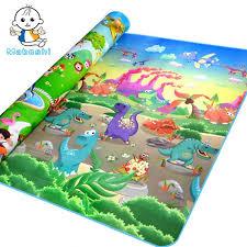 quality maboshi doulble sides zoo dinosaur kids play child picnic beach eva foam carpet rug crawling mats baby toy factory cost order kids rugs girls