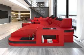 Couch Rot Schwarz