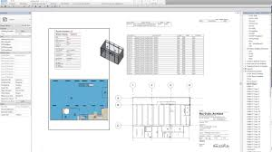 room data sheet creation with revit whitefeet plugin