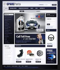 auto parts website template sixthlife 20 cars store virtuemart templates