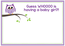 printable owl baby shower invitations printable owl baby shower invitations for girls