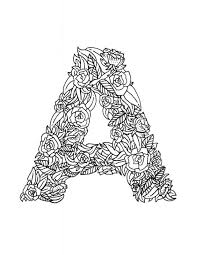Small Picture adult coloring pages of letters coloring pages of cursive letters