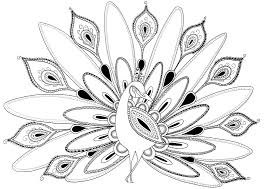 Peacock Coloring Pages Peacock Coloring Pages Images Coloring 6 ...