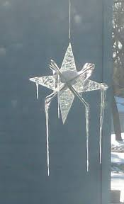 i have made many 3d stained glass stars over the years and one hangs from the edge of my roof near the back door it has been especially durable