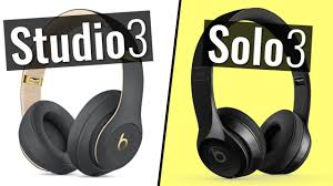 beats studio 3 vs solo 3 wireless headphones parison