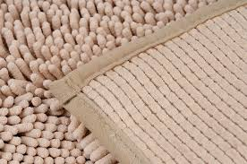 lovely polyester microfiber bath rugs chenille rug new country kitchen
