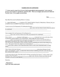 Unique Catholic Confirmation Letter Examples Uf36 Documentaries