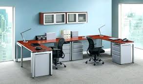 dual desks home office. dual desk home office double sided large image for pedestal desks o