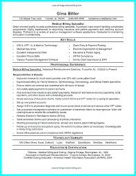 Medical Billing Resumes Beauteous Sample Health Specialist Resume Billing Specialist Resume Medical