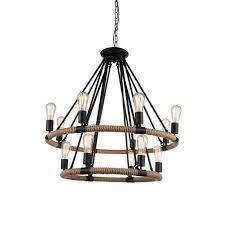 inyo 14 light wagon wheel chandelier reviews joss main