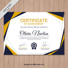 11 Certificate Layout Design Free Catering Resume