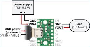 mini usb wiring diagram kanvamath org micro usb power wiring diagram fpf1320 power multiplexer carrier with usb micro b connector � usb wiring diagram