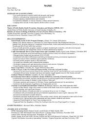 Cover Letter Examples For Health Educator Tomyumtumweb Com