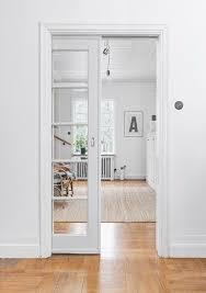 interesting interior sliding glass pocket doors with best 25 pocket doors ideas on room door