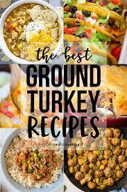 20 of the best ground turkey recipes