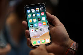 iphone 1000. cupertino, ca - september 12: the new iphone x is displayed during an apple iphone 1000