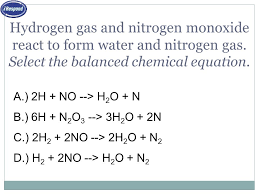 IDENTIFY AND BALANCE 5 TYPES OF REACTIONS EXPERIMENTALLY DETERMINE ...