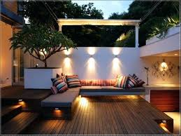 awesome patio deck lighting ideas lights solar outdoor