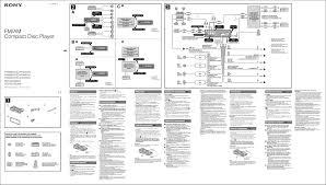 Sony Xplod 50wx4 Wiring Diagram Sony Cdx Gt710