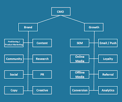 Cmo Org Chart How To Build A Marketing Team At A Consumer Technology
