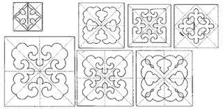 Fleur De Lis Block Set - Quilts Complete - Longarm Continuous Line ... & Fleur De Lis Block Set SQS-M60-BLK Adamdwight.com
