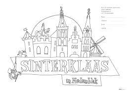 Doe Mee Met De Sinterklaas Kleurwedstrijd Medemblik Actueel