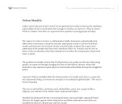 ways not to start a nelson mandela essay outline nelson mandela rapid essay researchers