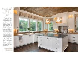 Hilton Head Magazines CH40CB40 Southern Style With A Contemporary Twist Inspiration Gourmet Kitchen Design Style