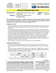 Wvh 18 Ecm Reprogram 2005 Pzev Pdf Subaru Outback Forums