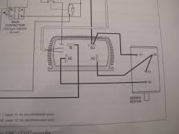 newbie c wiring question a a s s diy electric car the curtis manual example shows the motor a2 jumpered to s1 see below