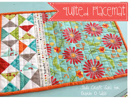 Quilted Placemat Patterns Simple Decorating Design
