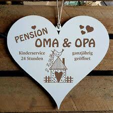 Oma Opa In Deko Schilder Tafeln Günstig Kaufen Ebay