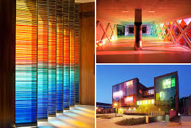 modern architectural interior design. 10 Examples Of Colored Glass Found In Modern Architecture And Interior Design Architectural