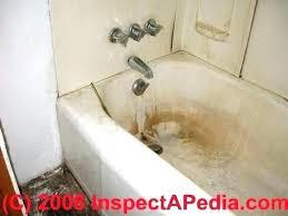 rust stains in bathtub yellow bathtub stain removal yellow bathtub stain removal how to remove rust