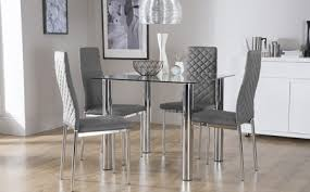 Round glass tables and chairs Small Space Latest Dining Table Sets Glass Glass Dining Table Chairs Glass Dining Sets Furniture Choice Ivchic Fancy Dining Table Sets Glass Round Glass Top Dining Table Set Ad