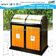 outdoor trash can storage outdoor trash cans trash cans outdoor wooden bin can public waste for