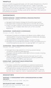 Resume Content Example A Model Resume Career Portfolio To Land A Dream Job