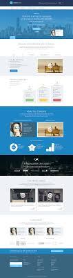 Business Homepage Design Saas Website Homepage Design On Behance