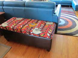 a new upholstered top for the storage ottoman