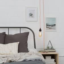 Bedroom Lighting Ideas Lamps Attic Bedroom Lighting Ideas Plug In Pendant Light