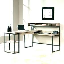 t shaped office desk. Modern L Shaped Office Desk Shape Computer Best T With Hutch