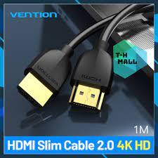 Cáp HDMI 1m to HDMI 2.0 HDR 4G 60Hz cho HDTV PS4 Máy chiếu chính hãng