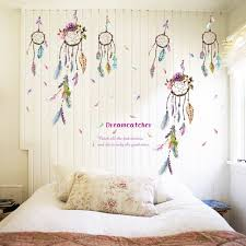 History Of Dream Catchers For Kids Quote Dreamcatcher Dream Catcher Vinyl Removable Stickers Nursery 60