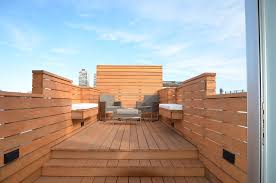 city roof deck contemporary deck