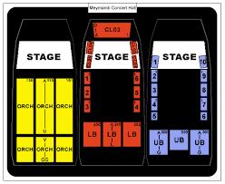 Meymandi Hall Seating Chart Related Keywords Suggestions