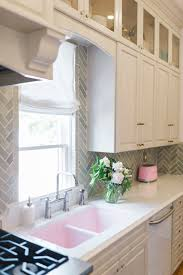 How To Run Kitchen Cabinets Across A Low Window The Leslie Style