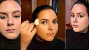 how to make a round face look slimmer with makeup tips editing app you