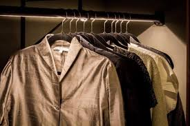 whether it s a few built in shelves with a small hanging rod or an elaborate second room dedicated to the careful storing of slacks shoes and slips here