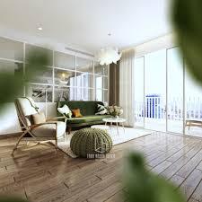 Home Design: Greenery Living Room Designs - Scandinavian Homes