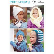 UKHKA Peter Gregory DK (7107) - Children's Hats and Mitts only £3.20